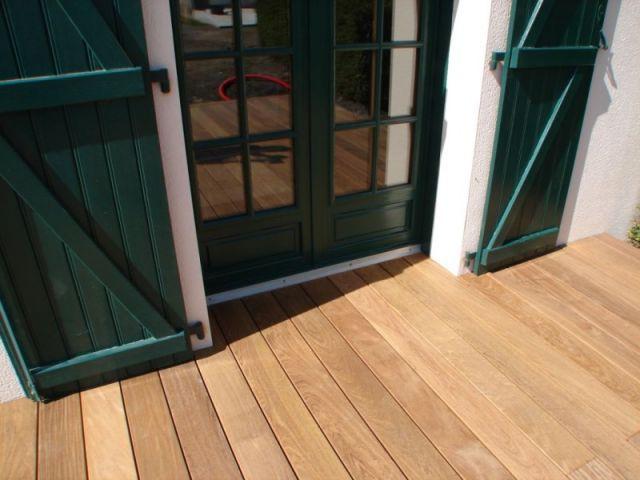 Détail finition - Montage terrasse bois