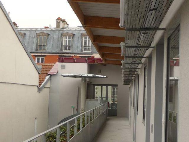 62 chambres - résidence étudiante Belleville Brigitte Métra