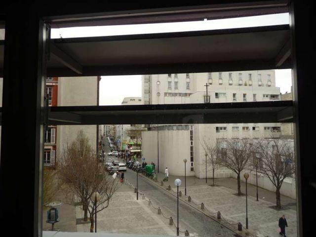 Fenêtre - résidence étudiante Belleville Brigitte Métra
