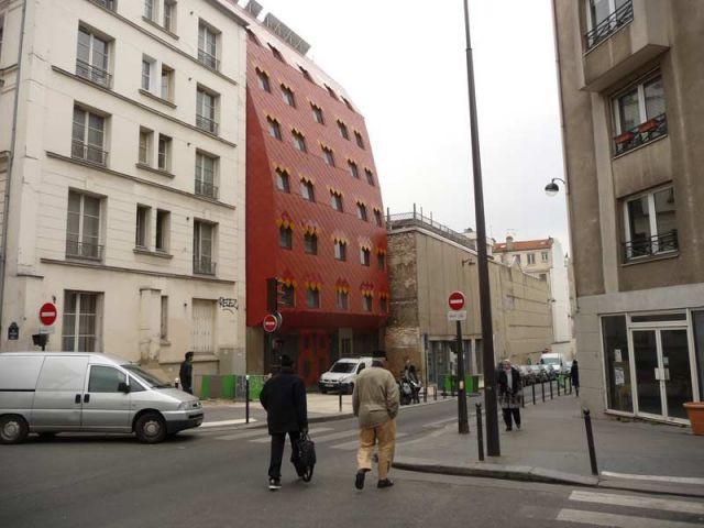 Echo - résidence étudiante Belleville Brigitte Métra
