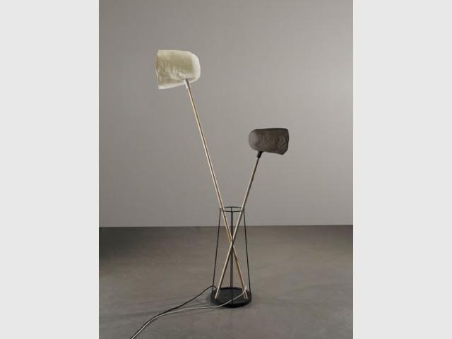 Grand bouquet Perchées - Expo l'Etreinte