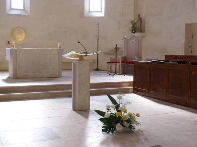 Le transept et le choeur - Bâtisseur de monastère