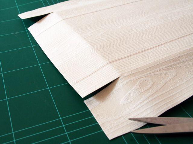 Etape 1 : L'habillage du châssis  - Les Ateliers de Mireia