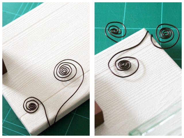 Etape 6 : finitions décoratives - Les Ateliers de Mireia