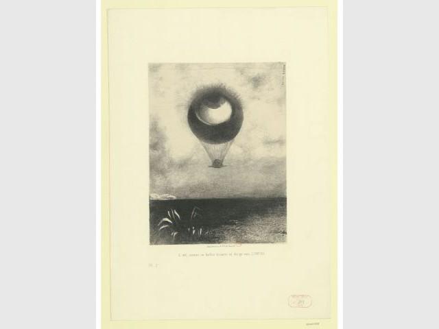 L'oeil, A Edgard Poe, Odilon Redon