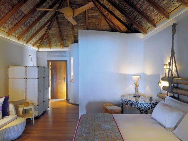 Beach villa - chambre - Moofushi Resort