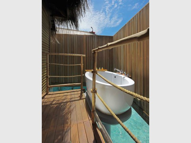 Senior villa - baignoire - Moofushi Resort