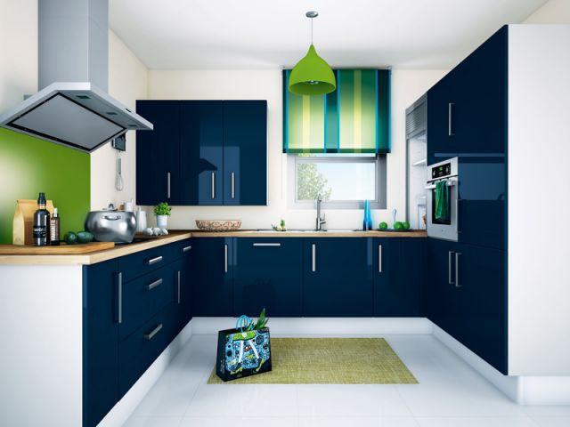 Classieuse et délicate - 12 cuisines à moins de 3000 euros