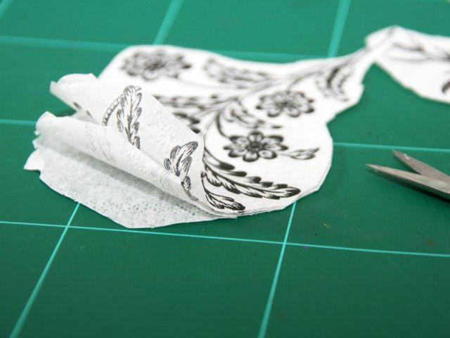 Etape 3 : la préparation des motifs - Les Ateliers de Mireia
