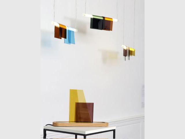 Lampes Photochrome - Partition pour 4 artisans d'art