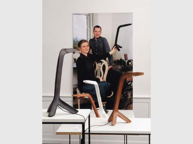 Lampes Girafes - Partition pour 4 artisans d'art