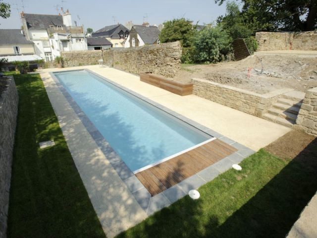 La piscine (1/2) - Lafarge Bétons