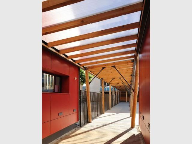 Laurier de la réalisation de l'Extension / Rénovation / Réhabilitation - Laurier construction bois