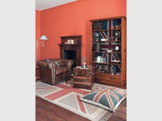 une d co so british aux couleurs de l 39 union jack. Black Bedroom Furniture Sets. Home Design Ideas