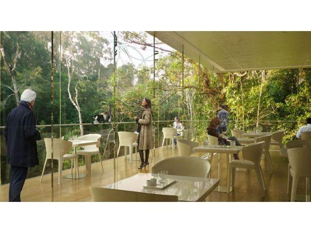 Vue du restaurant sur Madagascar