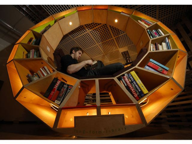 Bibliothèque design - House of Future