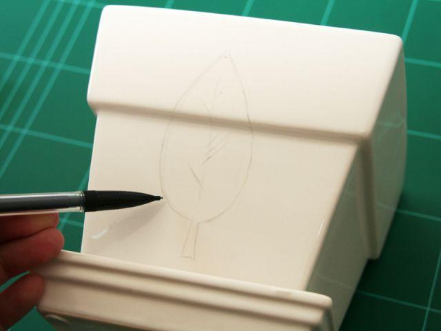 Etape 1 : le dessin du motif - Les Ateliers de Mireia