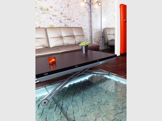 Pavés rétro-éclairés - Mini-loft