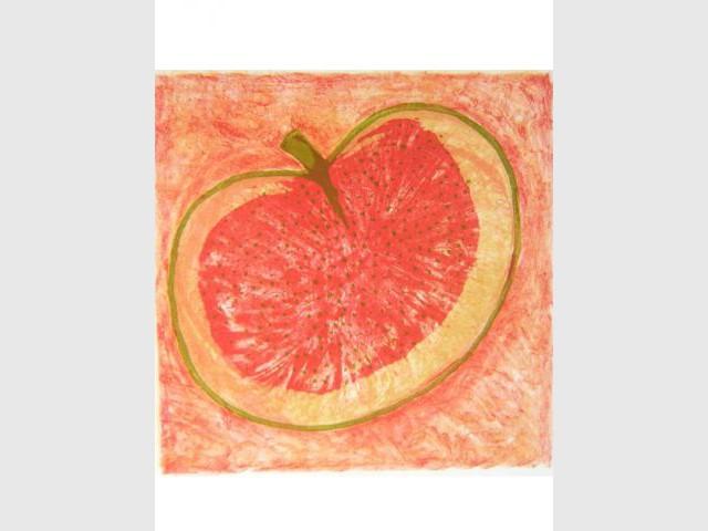 Fruit rouge et vert - Faut le voir chez soi