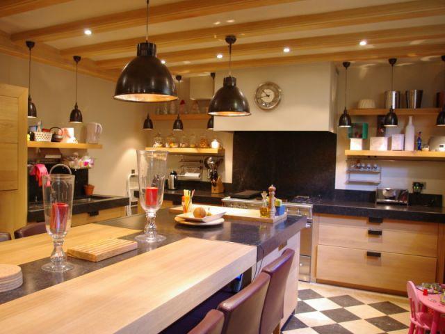 Vue générale - Reportage cuisine sous-sol