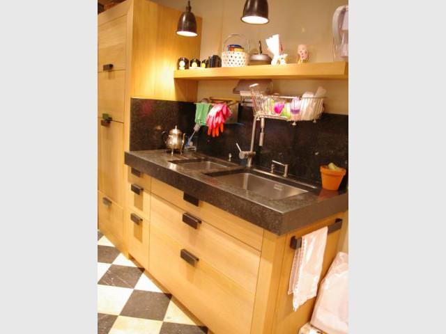 Zone lavage - Reportage cuisine sous-sol