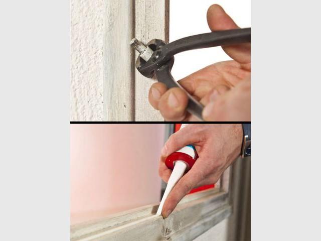 Etape 2 : Préparer le dormant - Rénovation fenêtre