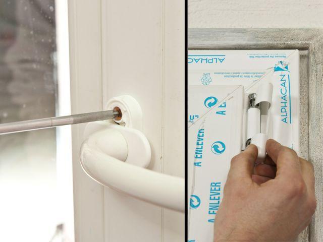 Etape 7 : Les finitions - Rénovation fenêtre