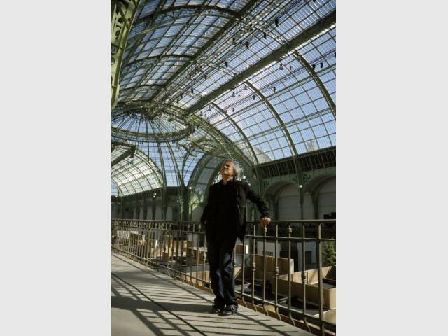 Anish Kapoor sous la Nef du Grand Palais - kapoor