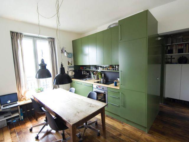 Espace cuisine - Studio 29m²