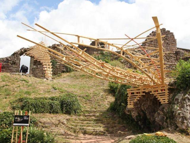 Spontanéité - Défis du bois 2011