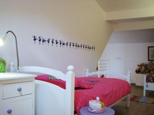 Une Chambre De Petite Fille Subtilement Décorée (suite)   Reportage Chambre  Petite Fille