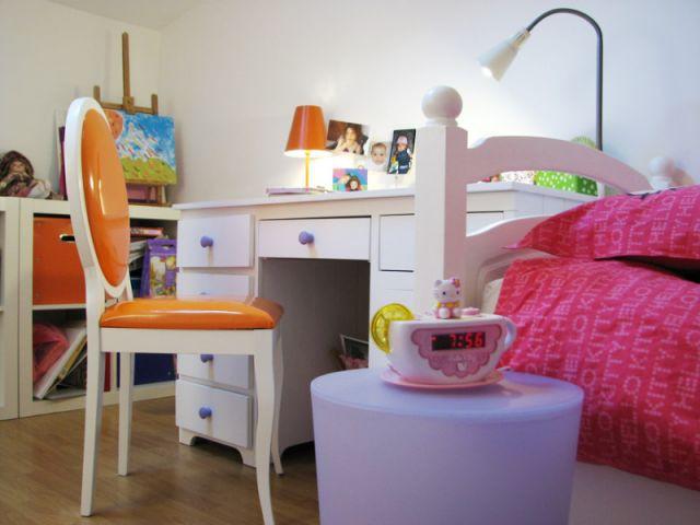 Une chambre de petite fille subtilement d cor e - Chambre bien decoree ...