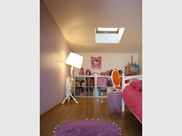 Le violet - Reportage chambre petite fille