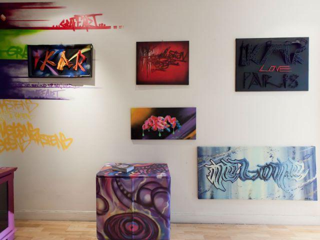 Oeuvres - Hästens - Graff'Art DR