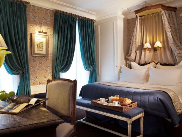 Chambre de Maitre Bleu Céleste - Hôtel de Buci
