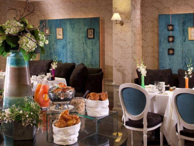 Salle des petits-déjeuners - Hôtel de Buci