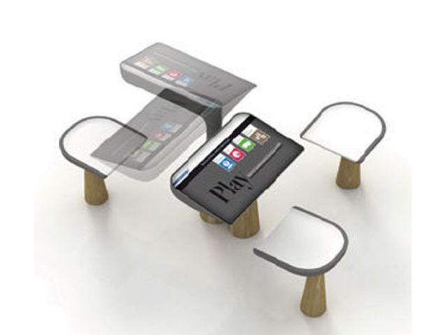 Le mobilier urbain intelligent s 39 invite paris for Mobilier urbain espace public