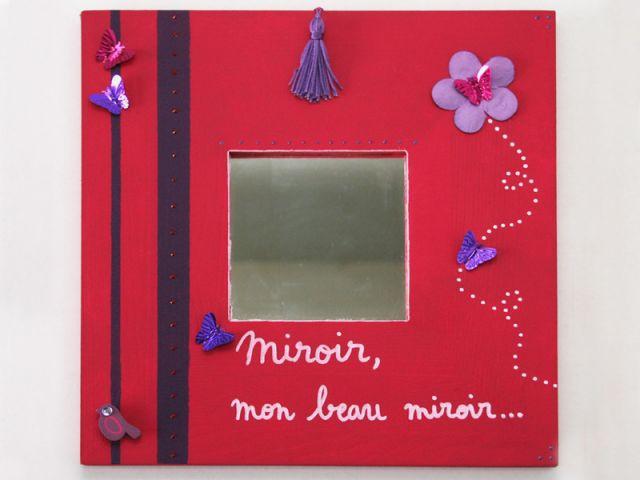 Autre idée : miroir de princesse - Les Ateliers de Mireia