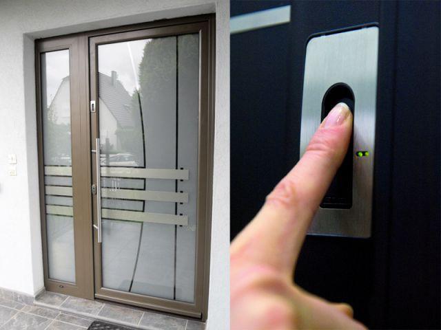 Porte biométrique - sécurité