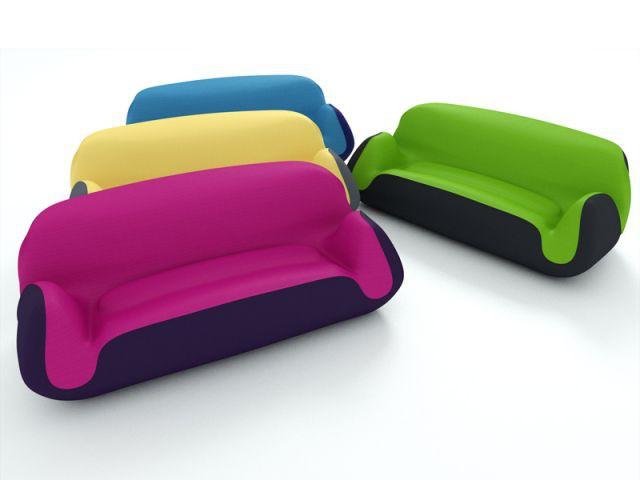 1 Canape Gonflable Colore Pour Votre Salon