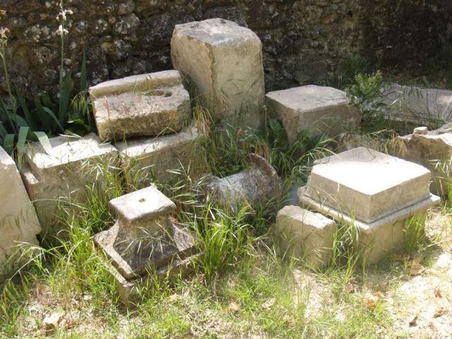 Pierres - Reportage jardin Grimaldi
