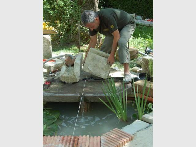 Déversoir - Reportage jardin Grimaldi