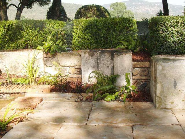 Muret - Reportage jardin Grimaldi