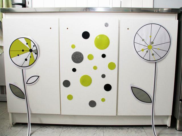 Placer les stickers - Les Ateliers de Mireia