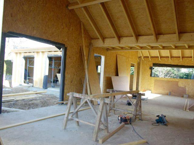 Ailes - Maison bois bioclimatique
