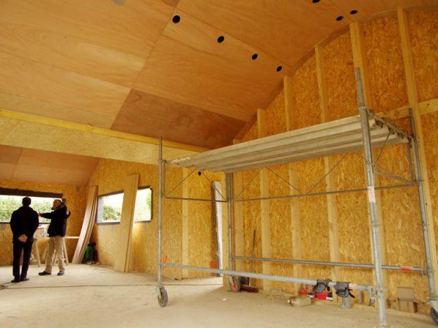 Isolation - Maison bois bioclimatique