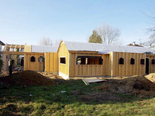 Membrane d'étanchéité - Maison bois bioclimatique