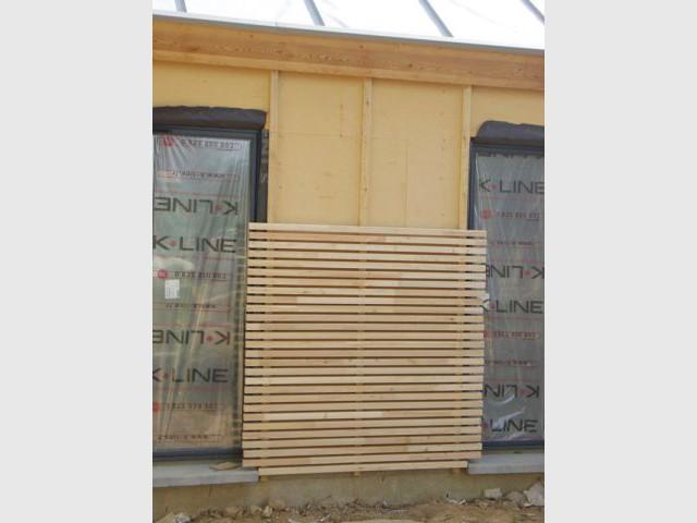 Bardage - Maison bois bioclimatique