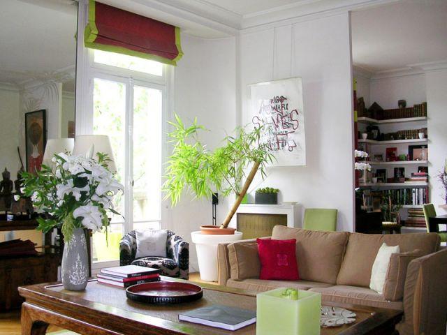 1 appartement cocon moderne et d\'inspiration asiatique