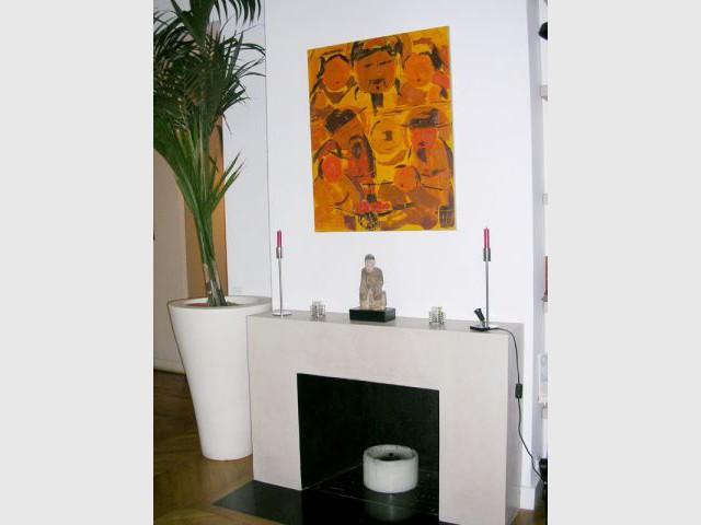 Sobre cheminée - Appartement Asie moderne